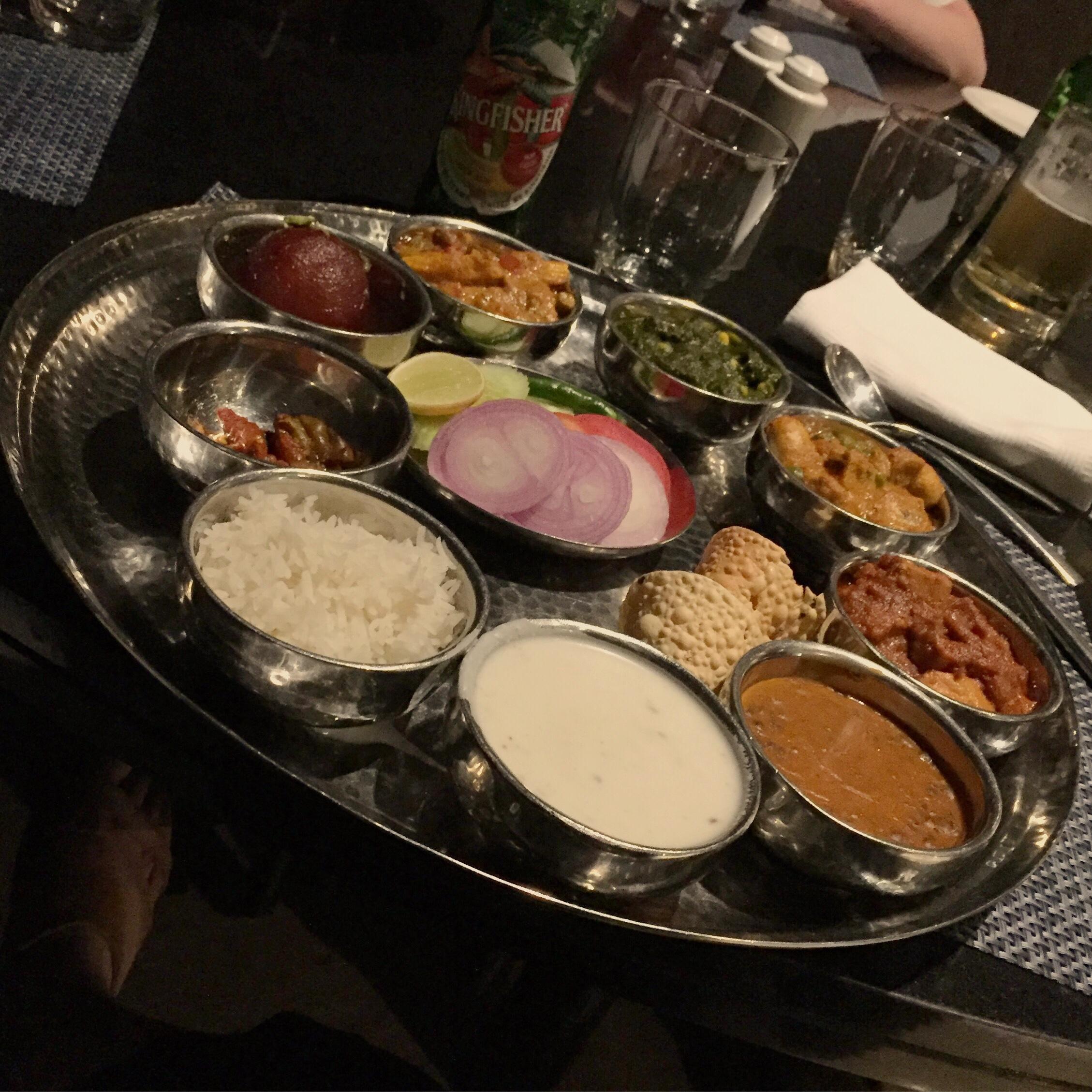 Äntligen thali!