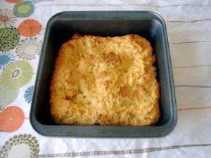 nybakat polenta bröd! (och nya handuken kommer från Åhlens...)