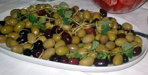 Utan oliver, ingen buffé