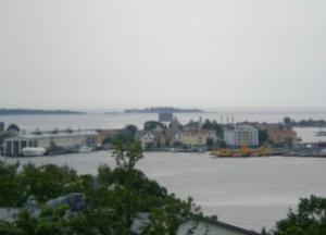 Utsikt mot Stumholmen och Handelshamnen