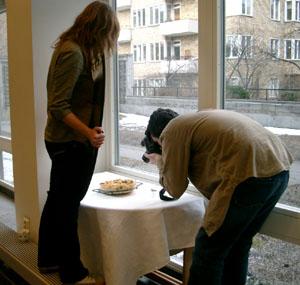 Sarah och Marc fotograferar