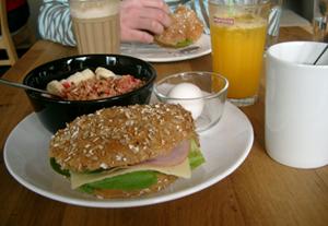 Frukost på Café Angelique