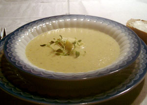 Kronärtskockssoppa