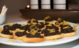 Crostinis med olivcreme
