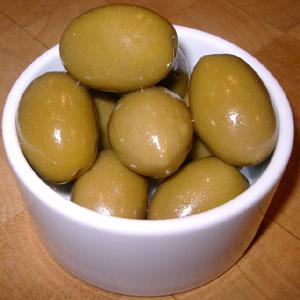 Stora gröna oliver från Grekland - mina favoriter