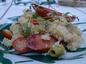 Quinoa med chorizo