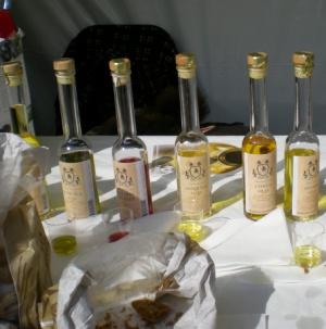 Förutom tryffel och hantverk erbjuder Gotland bl a goda oljor från Gute Vin