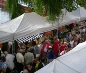 Folkmassa på Smaklust