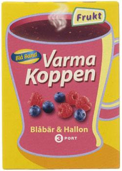 Varma Koppen, Blåbär & Hallon