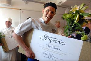 Jesper Kansten - vinnare av Västerbottensoststipendiet 2007