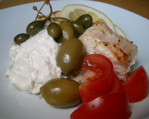 Yoghurtmarinerad kyckling med citron
