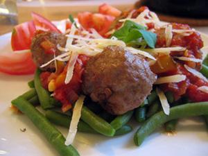 Italienska köttbullar