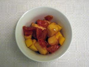 Fruktsallad med spännande smaker