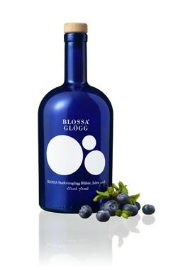 Blossa 08 med smak av blåbär och kryddnejlika