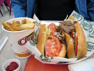 Philly CheeseSteak Sandwich Deluxe