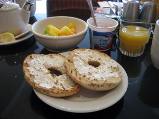 Frukost på hotellet