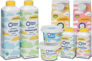 Laktosfria produkter från Skånemejerier