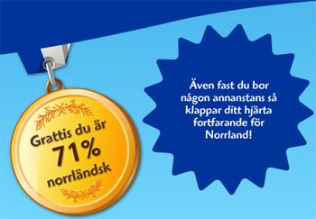 71% norrlänning