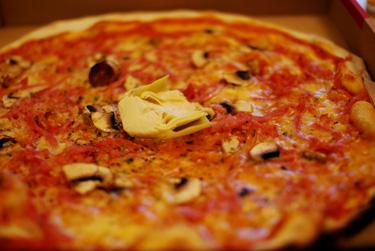 Den obligatoriska dagen-efter-pizzan