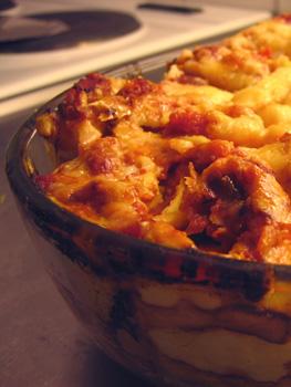 Cannelloni med trattkantareller