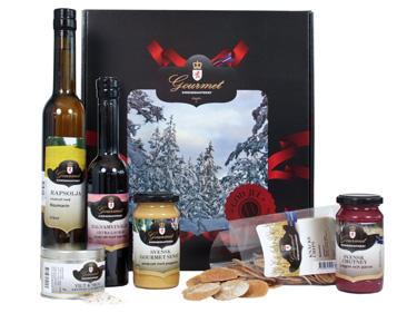 Vinn en presentlåda från Sverigeskafferiet!