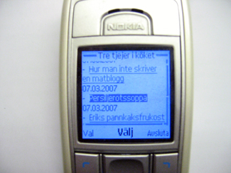 Favvobloggen i din mobil!